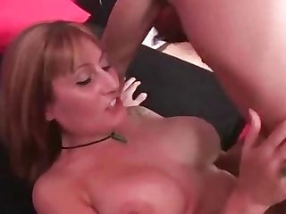 90s Spanish Cougar With Big Tits Does Deep Blowage And Fucks Youthfull Boy