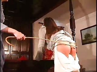 Wicked Spoilt Legal Age Teenager Acquires A Worthwhile Caning