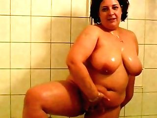 Retro Fatty Cougar Deepthroats Big Fuck-stick And Likes Pussy Eating