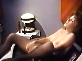Commander Of The Eros Starship Masturbates With Faux-cock St69