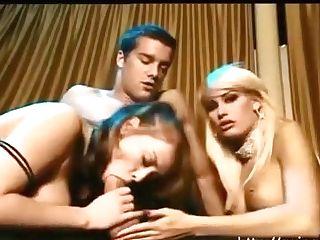 Crazy Blonde Rails On Dick