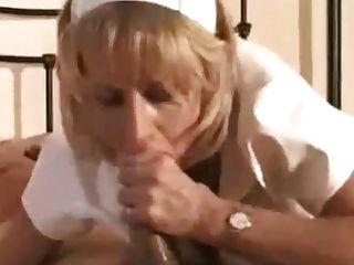 Sexy Pvc Nurse Inhales